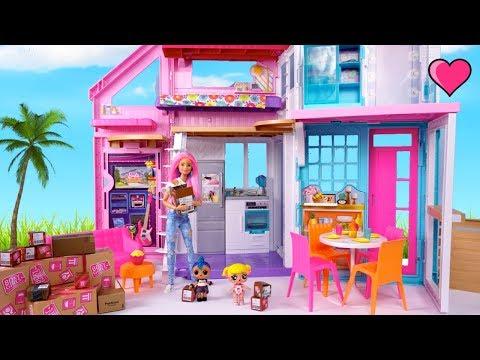 LOL Punk Boi Juega en la Nueva Casa de La Bebe Goldie  - Dia de mudanza!