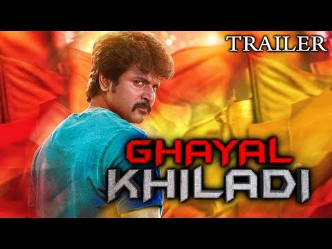 Ghayal Khiladi (Velaikkaran) 2018 Official Hindi Dubbed Trailer | Sivakarthikeyan, Nayanthara