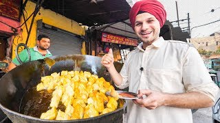 INDIAN STREET FOOD Tour DEEP in PUNJAB, INDIA | BEST STREET FOOD in INDIA and BEST CURRY HEAVEN!