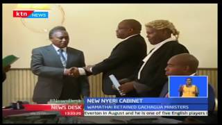 KTN News:Nyeri the swearing in of the new cabinet