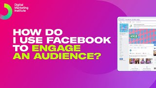 How do I use Facebook to engage an audience?