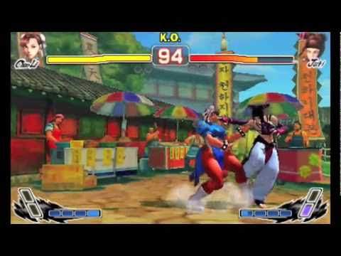 Видео № 0 из игры Super Street Fighter IV 3D Edition [3DS]