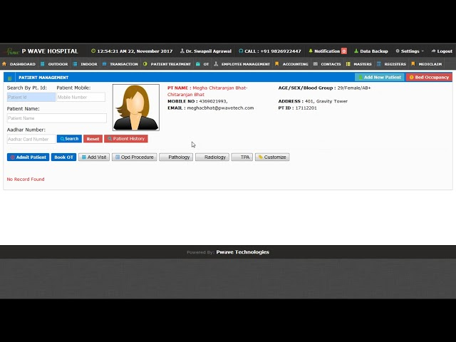 Pwave Hospital Management Software Pricing, Features