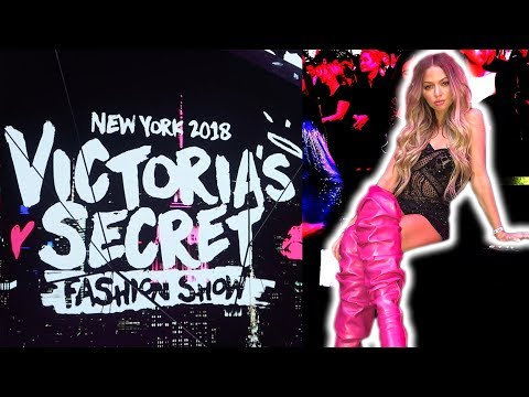 THE VICTORIA'S SECRET FASHION SHOW 2018 (behind the scenes)