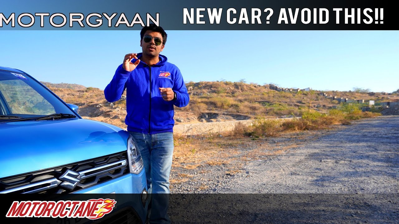 Motoroctane Youtube Video - Don't DO 5 THINGS on your new car | Hindi | MotorOctane
