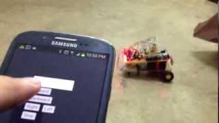 Controlling arduino car using android sl4a python bluetoothWrite