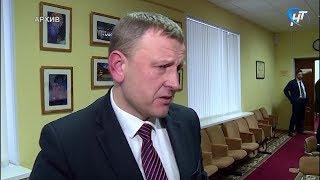 Глава Окуловского района Сергей Кузьмин заявил о своей досрочной отставке
