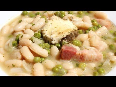 POTAJE DE ALUBIAS CON GUISANTES - Falsarius Chef