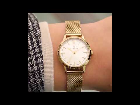 Renard Elite 25.5 ladies watch silver/gold colored