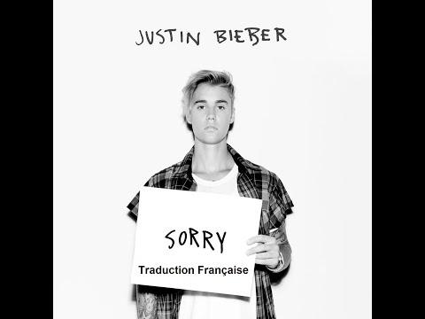 Justin Bieber - Sorry (lyrics + traduction française)