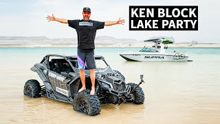 Can-Am Wakesurf Slingshot?? Ken Blocks Guide To Awesome Can-Am Riding Spots: Lake Powell, Utah