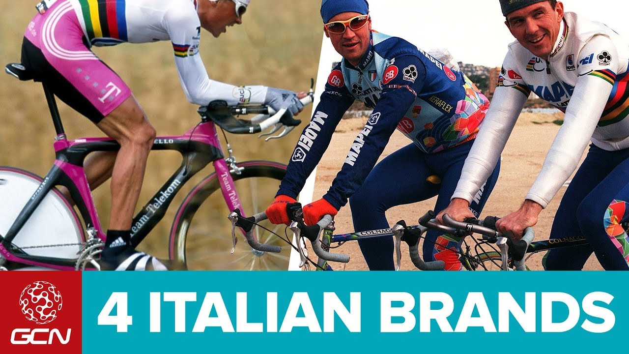 Quattro iconici marchi italiani di bici da corsa