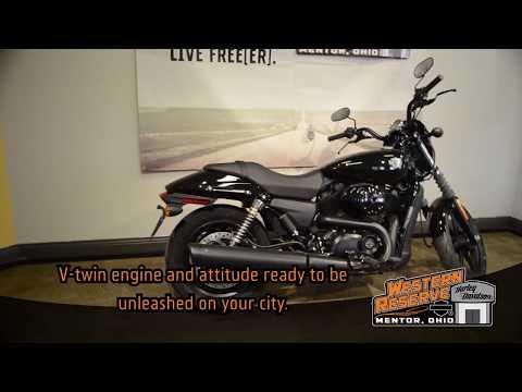 2015 Harley-Davidson Street™ 500 in Mentor, Ohio