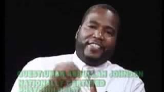 Conspiracy To Destroy Black Boys Brotha Umar Abdullah Johnson pt  1 flv