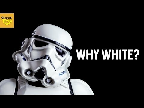 Why is STORMTROOPER Armor WHITE?