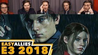 Resident Evil 2 (Trailer 2) - Easy Allies Reactions - E3 2018