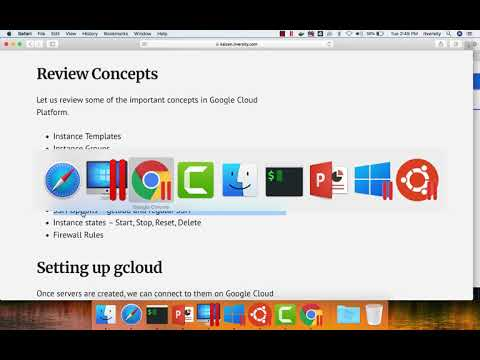 Google Cloud Platform – Review Concepts
