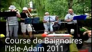 preview picture of video 'Course de Baignoire l'Isle-Adam 2011'