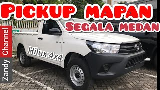 Review Toyota Hilux 2019 Single Cab 4x4