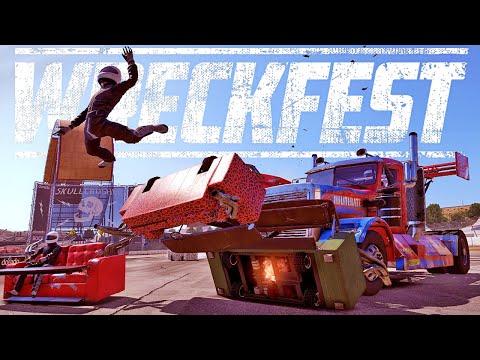 The Craziest Vehicles & Tracks In Wreckfest - New Major Update! - Wreckfest Gameplay