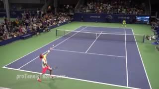 Evans v. A. Zverev, 2016 US Open, 4K