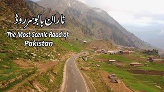 Naran Babusar Road   Beautiful National Highway   Road Travel Trip