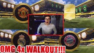 FIFA 17 OMFG 4 UNGLAUBLICHE WALKOUTS 100K PACKS DEUTSCH  ULTIMATE TEAM  PACK OPENING