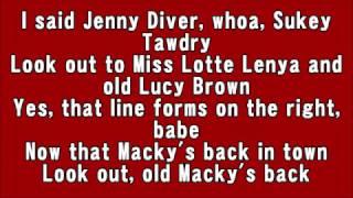 Bobby Darin Mack the Knife Lyrics