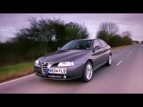 Alfa 166 car review – Top Gear – BBC