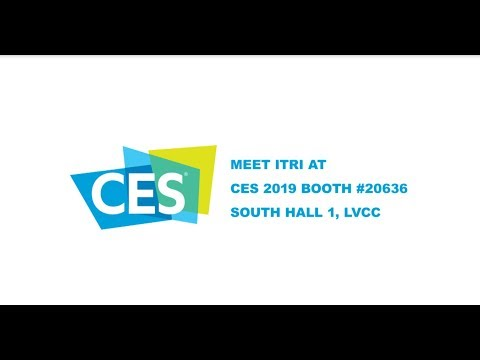 Join ITRI at CES 2019!