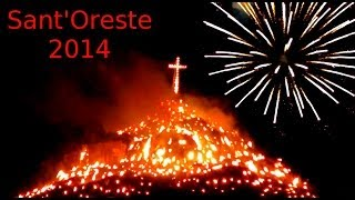 preview picture of video 'Sant'Oreste Festa della Madonna 2014'