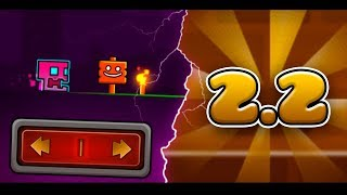 ОБЗОР НА 2.2 Sneak Peak | Geometry Dash Leaks