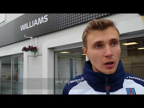 Sergey Sirotkin - Azerbaijan GP 2018 Race Reaction
