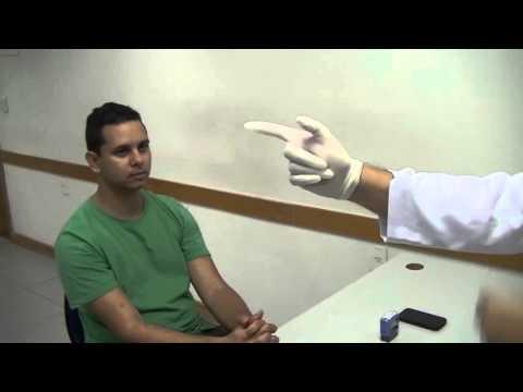 Abdómen ferida após o tratamento de prostatite