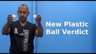 PingPod #35 - The New Plastic Ball Reviewed |Table Tennis
