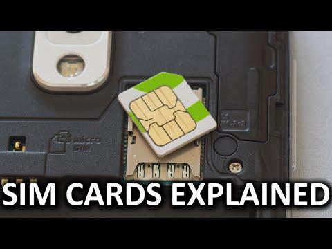 How Do SIM Cards Work?