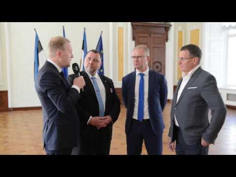 Komisjonide esimehed tutvustavad eesistumise konverentse