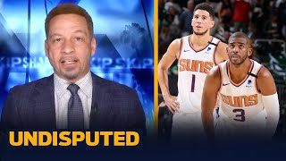 Suns will force Game 7, CP3 & Book are due — Broussard | NBA | UNDISPUTED