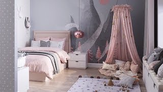 Princess Room / Dreamy Little Girls Bedrooms / Kids Room Decor Ideas For Girls 2019