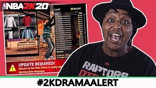 PLAYERS TURN AGAINST EACH OTHER AS 2K20 DEVELOPERS PREPARE NEW UPDATE!! #2KDRAMAALERT