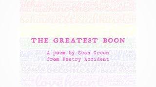The Greatest Boon