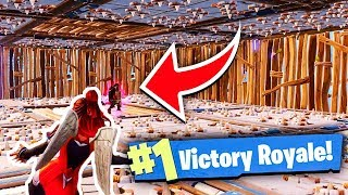 IMPOSSIBLE SPIKE TRAP *WIN* IN FORTNITE BATTLE ROYALE!!! (Fortnite Battle Royale Solo Win Gameplay)