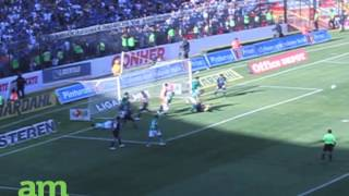preview picture of video 'Querétaro vs León 0-2 Apertura jornada 1 LIGA MX 2012'