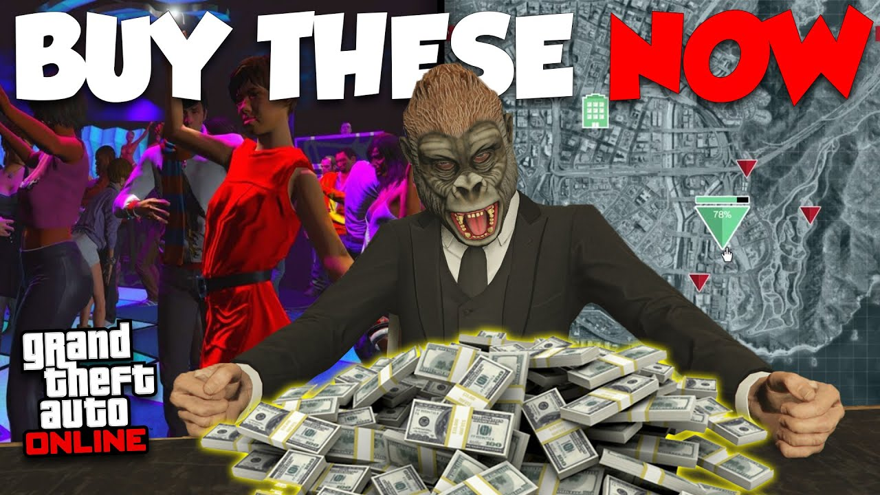 TOP 5 BEST BUSINESSES TO GENERATE INCOME IN GTA ONLINE! thumbnail