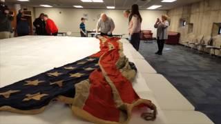 Family donates 152-year-old union flag to Ohio Historical Society