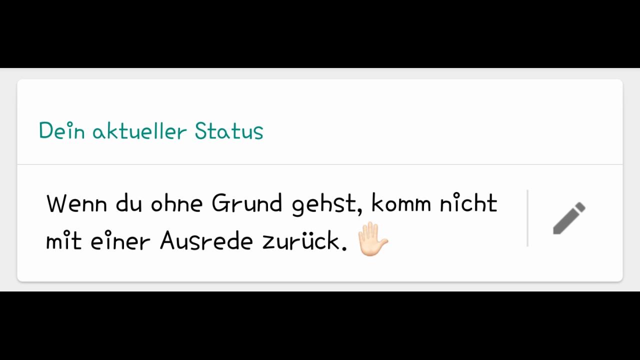 whatsapp status sprüche love
