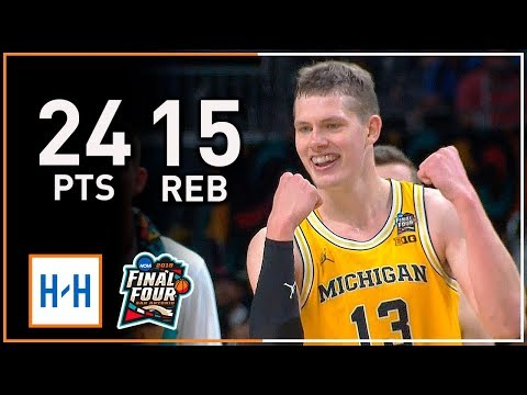 Moritz Wagner CRAZY Full Highlights vs Loyola-Chicago (2018 NCAA March Madness) - 24 Points, 15 Reb
