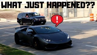 LAMBORGHINI EVADES COPS WITH STEALTH!