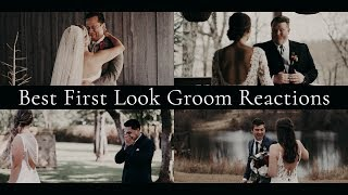 Best First Look Groom Reactions Compilation   Emotional First Looks