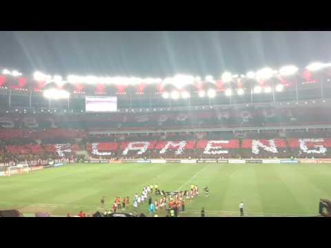 """""""Mosaico FLAMENGO 4 x 0 San Lorenzo - Libertadores 2017 - Maracanã"""" Barra: Nação 12 • Club: Flamengo"""